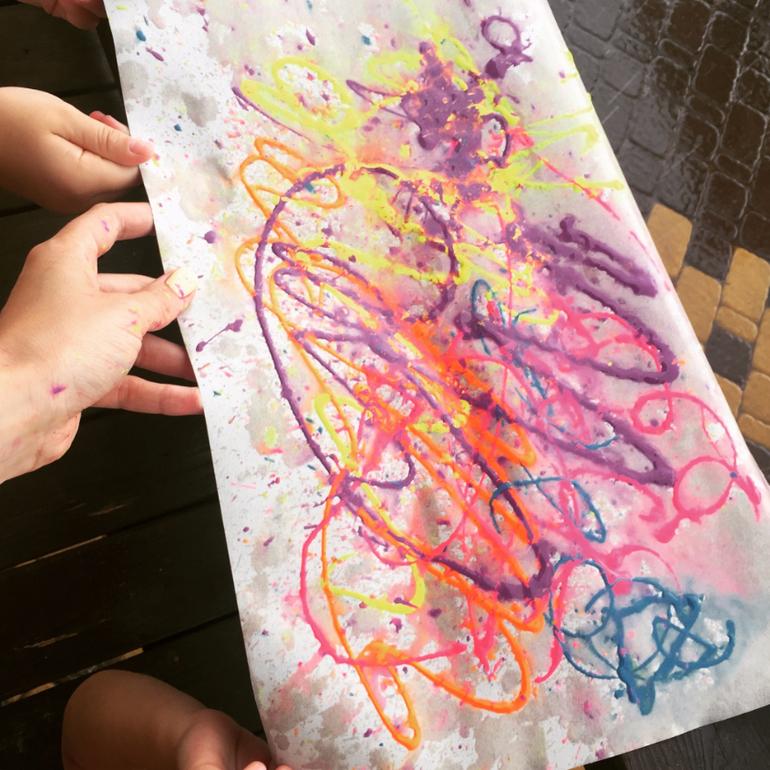 Мы рисуем улицу детские