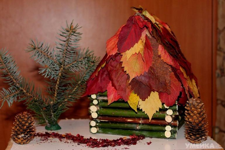 Осенние природные поделки своими руками