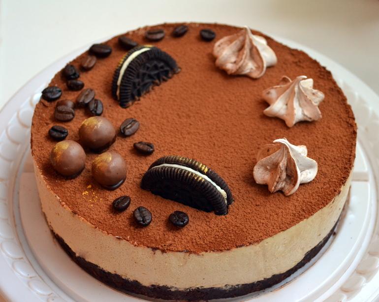 Торт из печенья к кофе пошаговый рецепт с