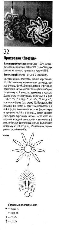 Прихватки вязаная крючком со схемой и описанием7