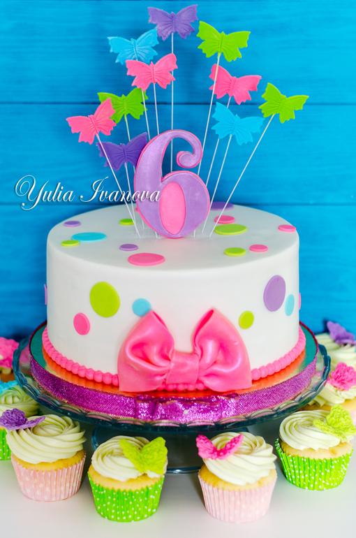 Торт для девочки! - запись пользователя Юлия СК (La torte ...