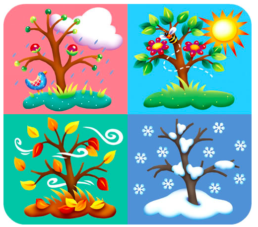 the seasons of the year my