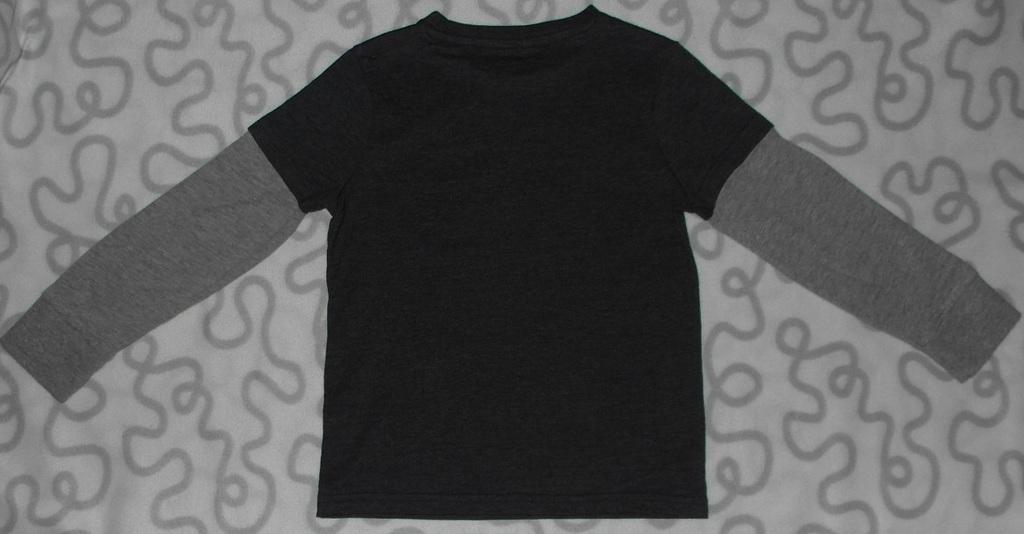 Новая футболка с длинным рукавом F&F, 110-116 см
