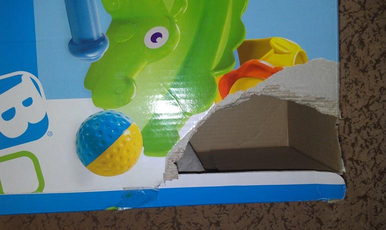 Мини-гольф игрушка для малышей