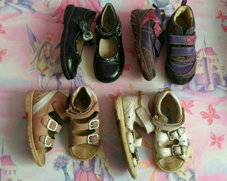 Пакет обуви, р.24-26
