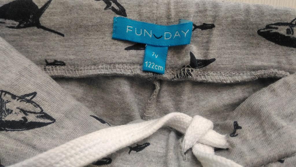 Шорты Fun day, p.122, 7л.