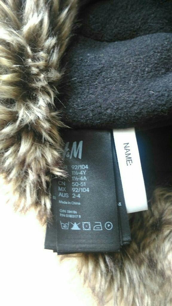 Шапка H&M, 92/104, 1,5-4г.