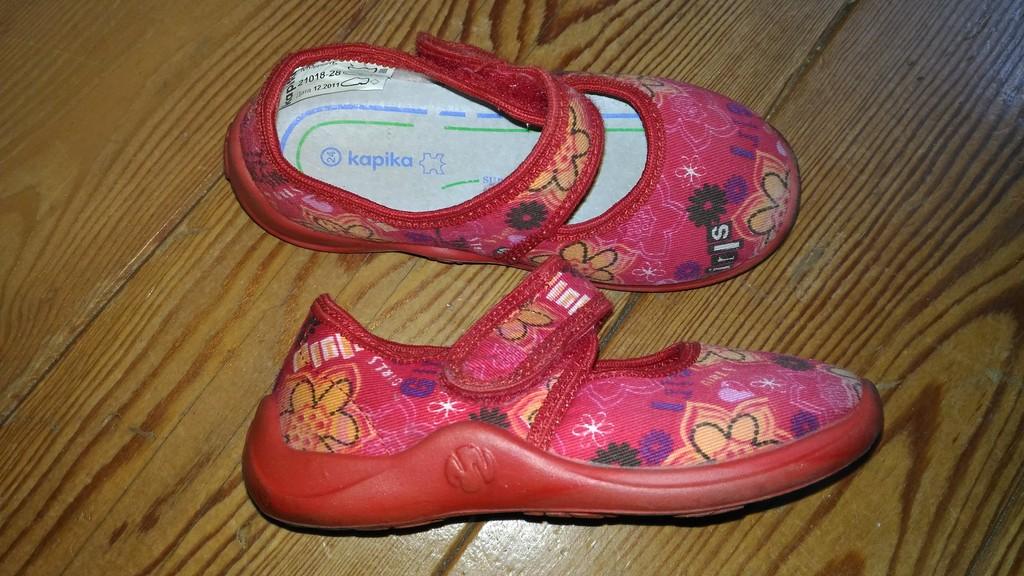 Текстильные туфли Капика. р.24