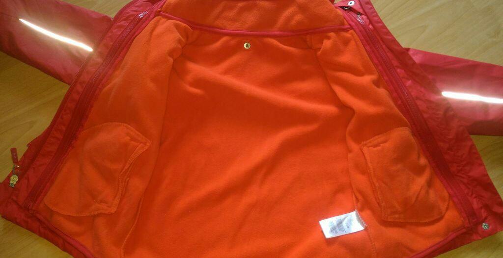 Куртка 2 в 1 Tchibo, р.110/116