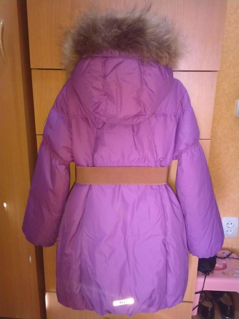 Зимняя куртка -пальто  ф. nels / нельс 134 см.