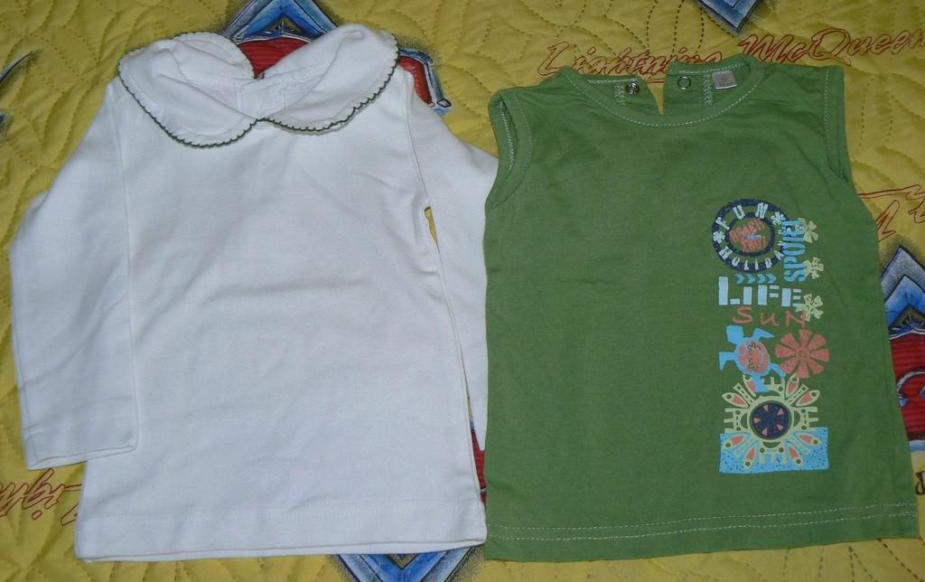 Пакетиком (футболка с дл. рукавом новая + майка) р