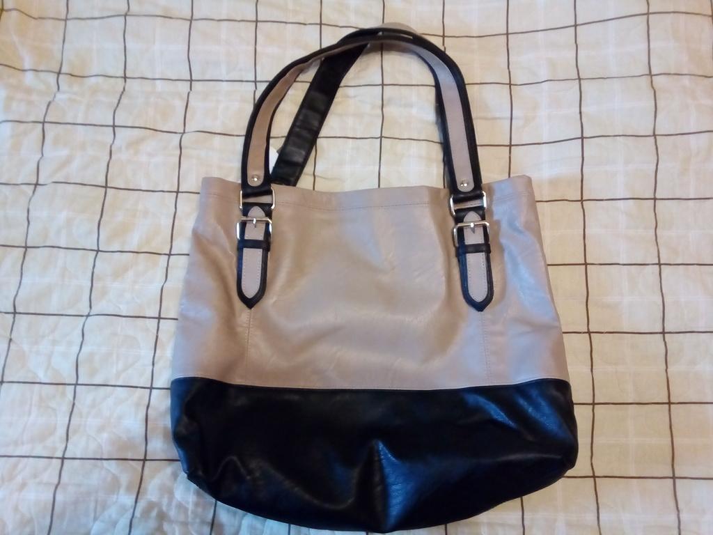 Новая сумка с этикетками  офисный стиль