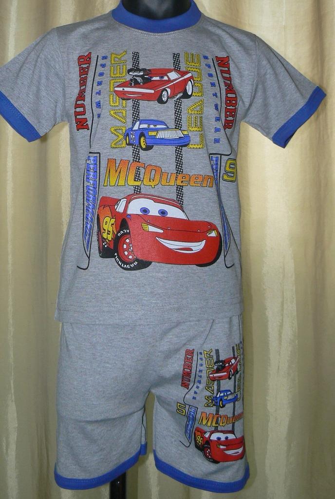 КОМПЛЕКТЫ (футболка+шорты) новые р.98