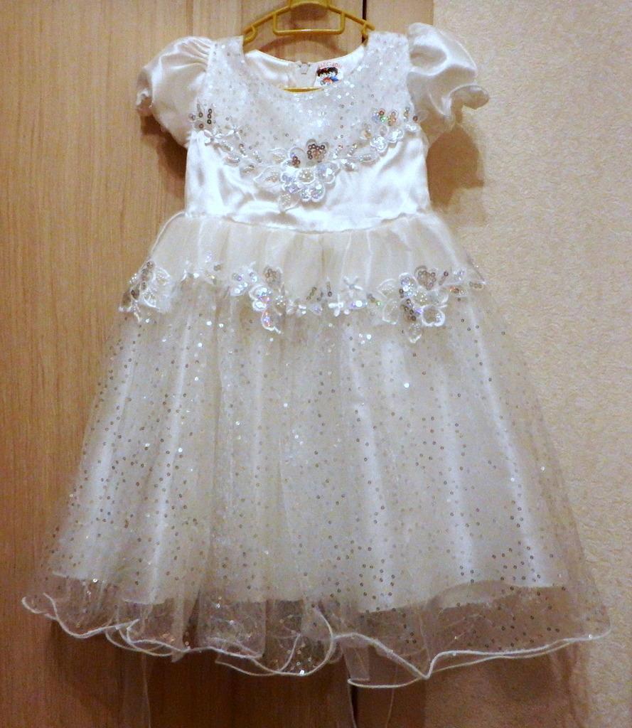 Платье праздничное 1-3 года (92-98)