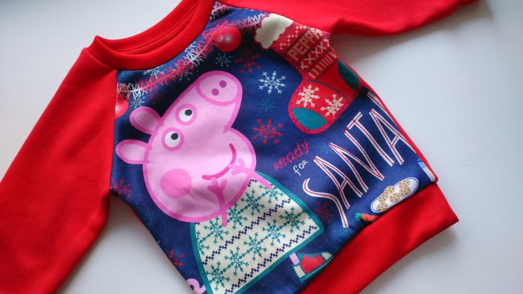 Новогодняя толстовка Свинка Пеппа (Peppa pig)