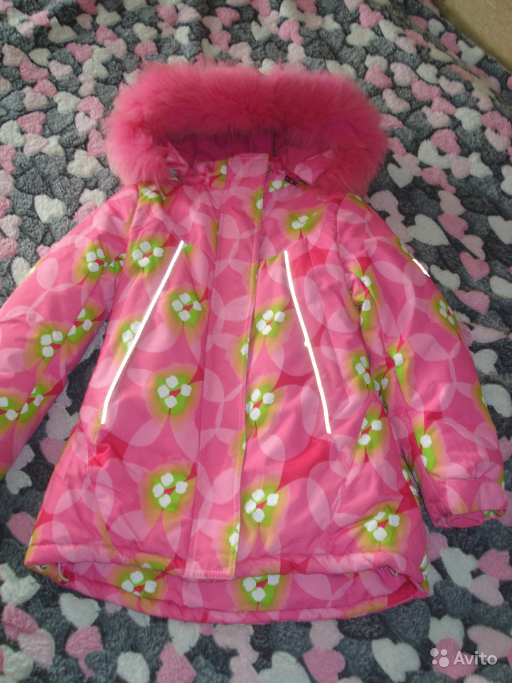 Детская зимняя куртка р.134