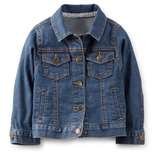Новая джинсовая куртка carters р 18 м