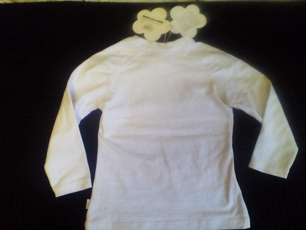 Новый логслив футболка с длинным рукавом р. 4