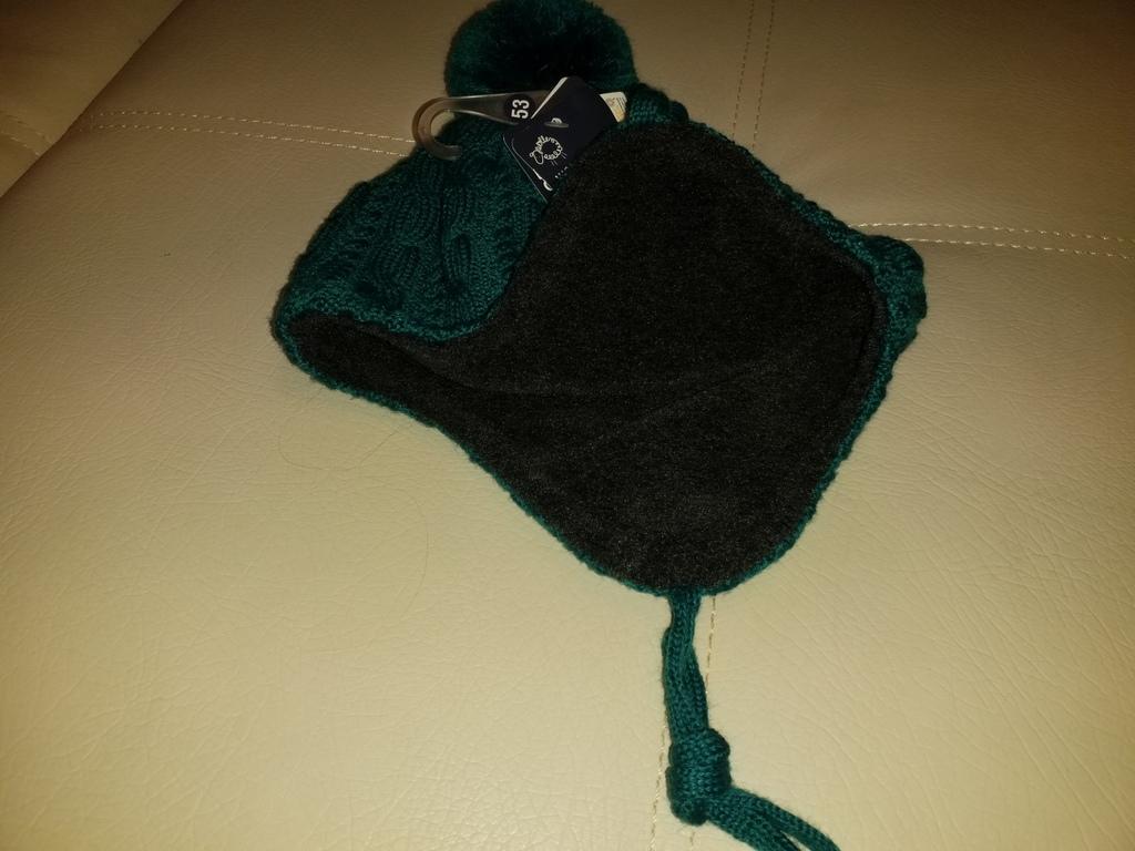 Новая зимняя шерстяная шапка MaxiMo р. 53 Германия