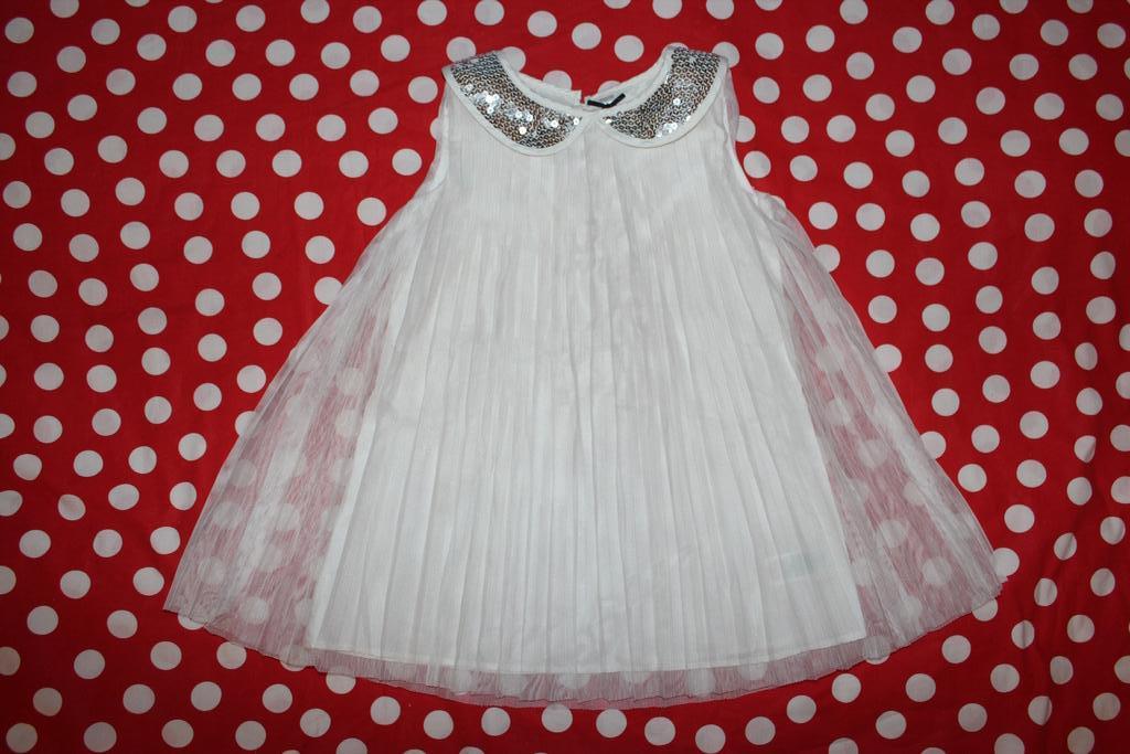 Платье нарядное новое M&S на 2-3 года и другое