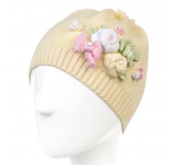 Новая осенняя шапочка Chobi желтая xs 48 р-р