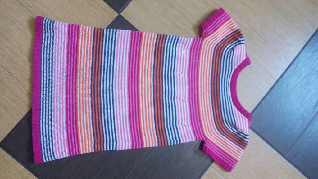 Трикотажное платье на 3-5 лет