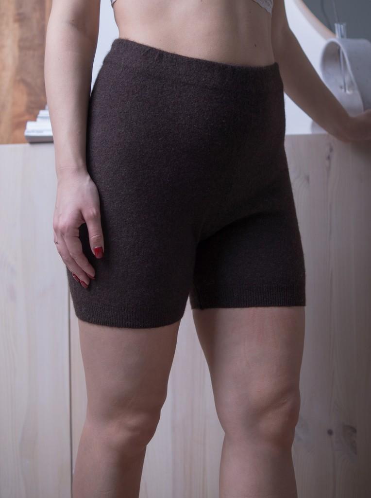 Шорты женские теплые