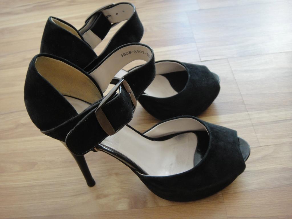 туфли замшевые 38