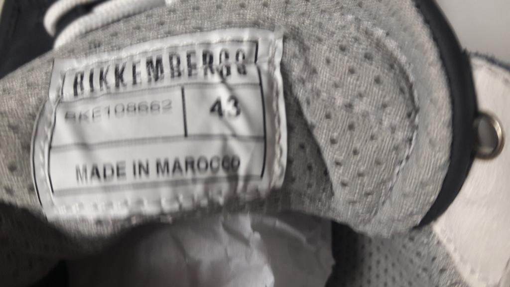Кроссовки новые оригинал Bikkembergs 43-28см