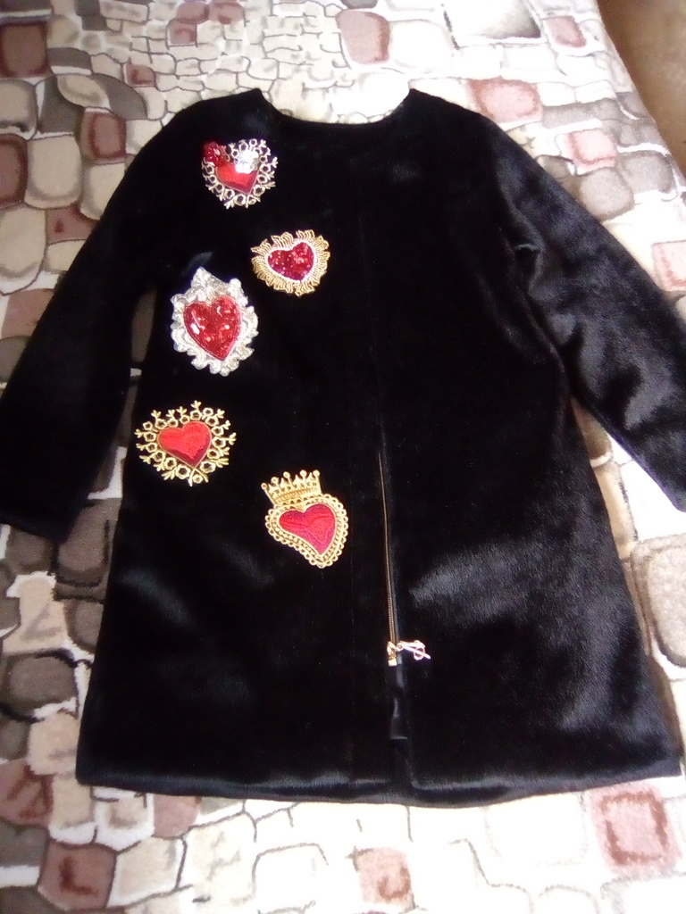 Шикарное пальто Альбирелло р-р116