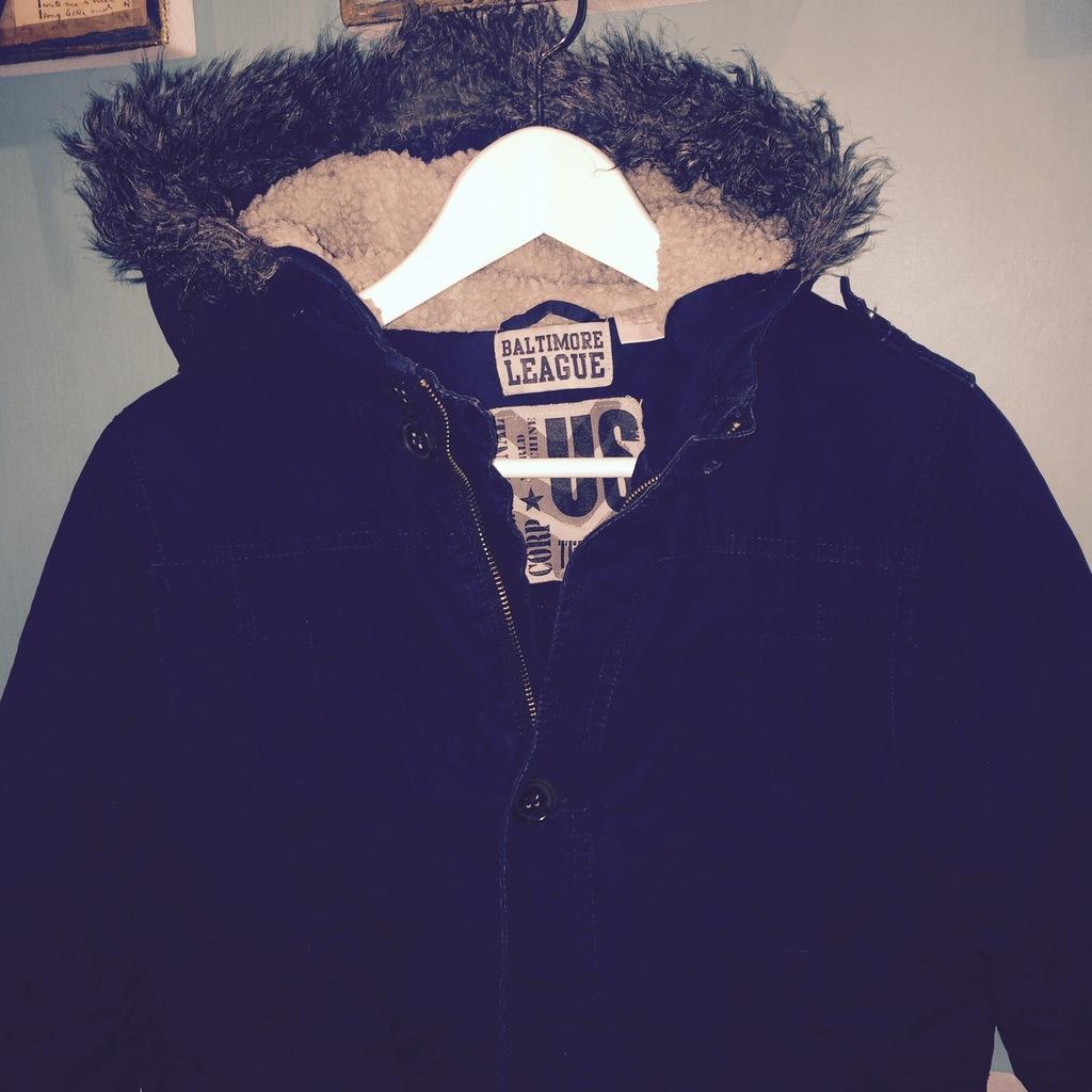 Парка осень-зима на мальчика рост 152см