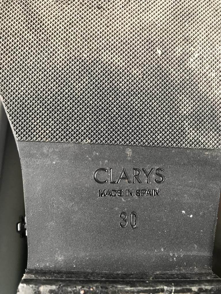 сапоги для девочки осенние.  clarys, Испания.