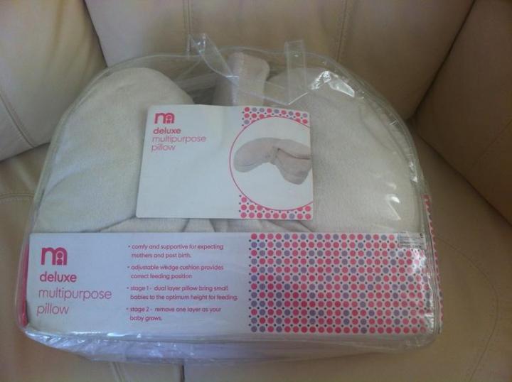 Подушка для кормления Мothercare Deluxe и тарелка