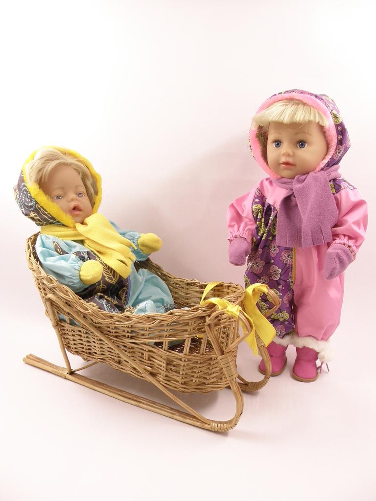 Комбинезон для кукол беби бон 43см