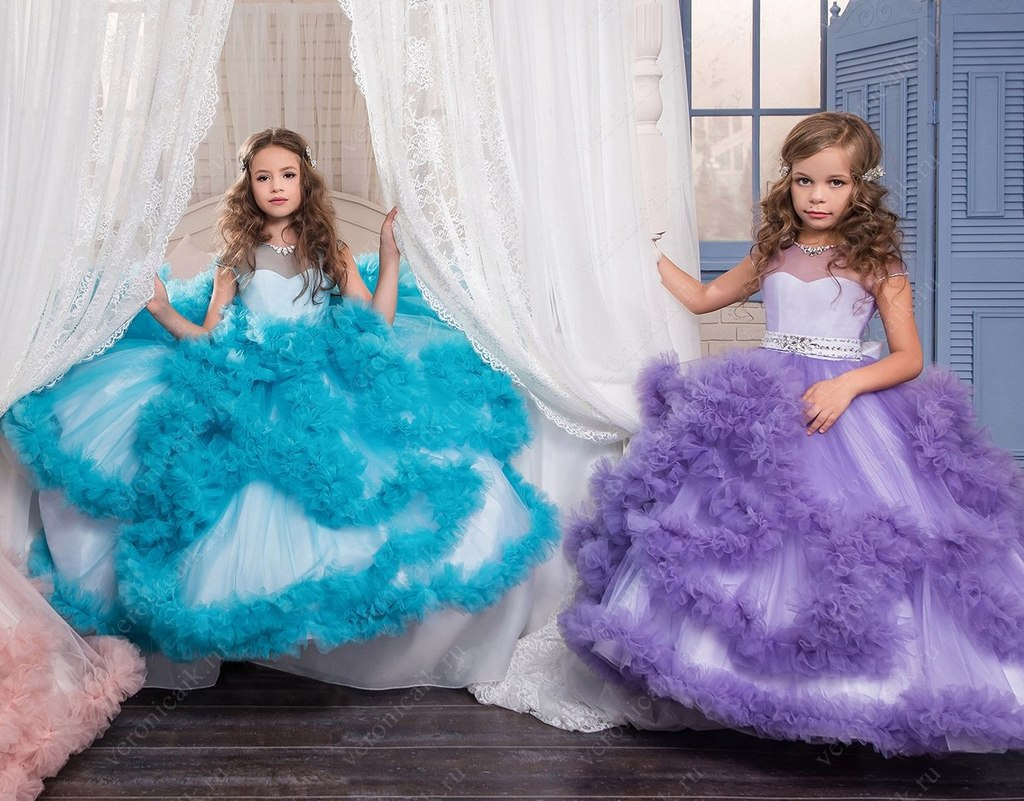 фото новогодние детские платья
