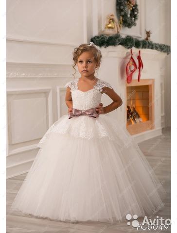 платья детские бальные фото