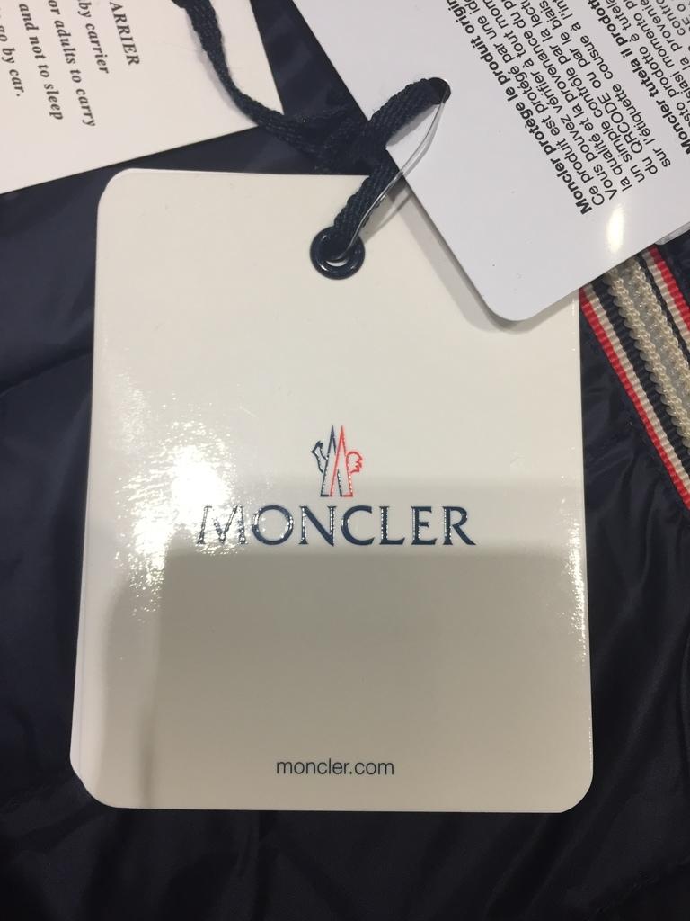 пуховый конверт от MONCLER 0-7 мес