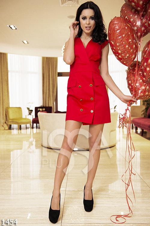 e6143c00c48 Продаю Красный сарафан с крупными пуговицами в Москве - Барахолка ...