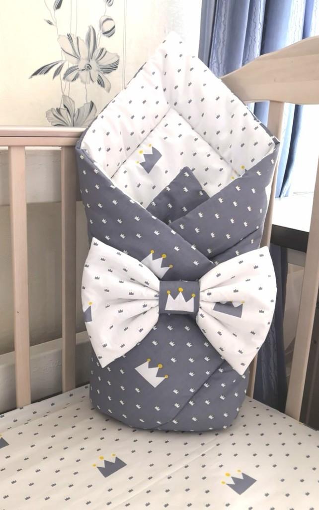 Одеяло-конверт на липучке