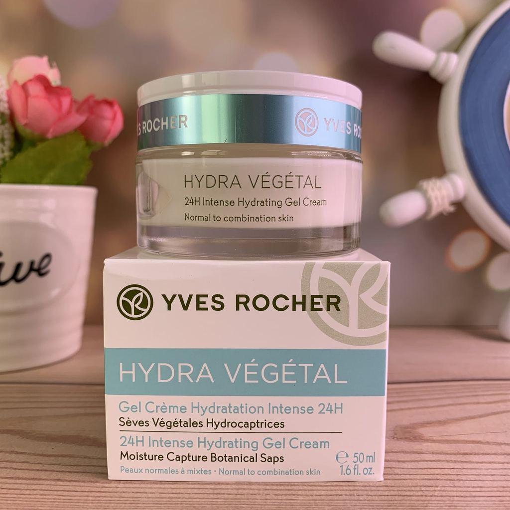 Гель-крем для лица Yves Rocher Hydra Vegetal