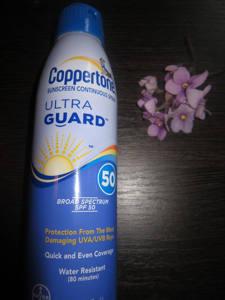 Coppertone  ULTRA GUARD солнцезащитный спрей SPF50