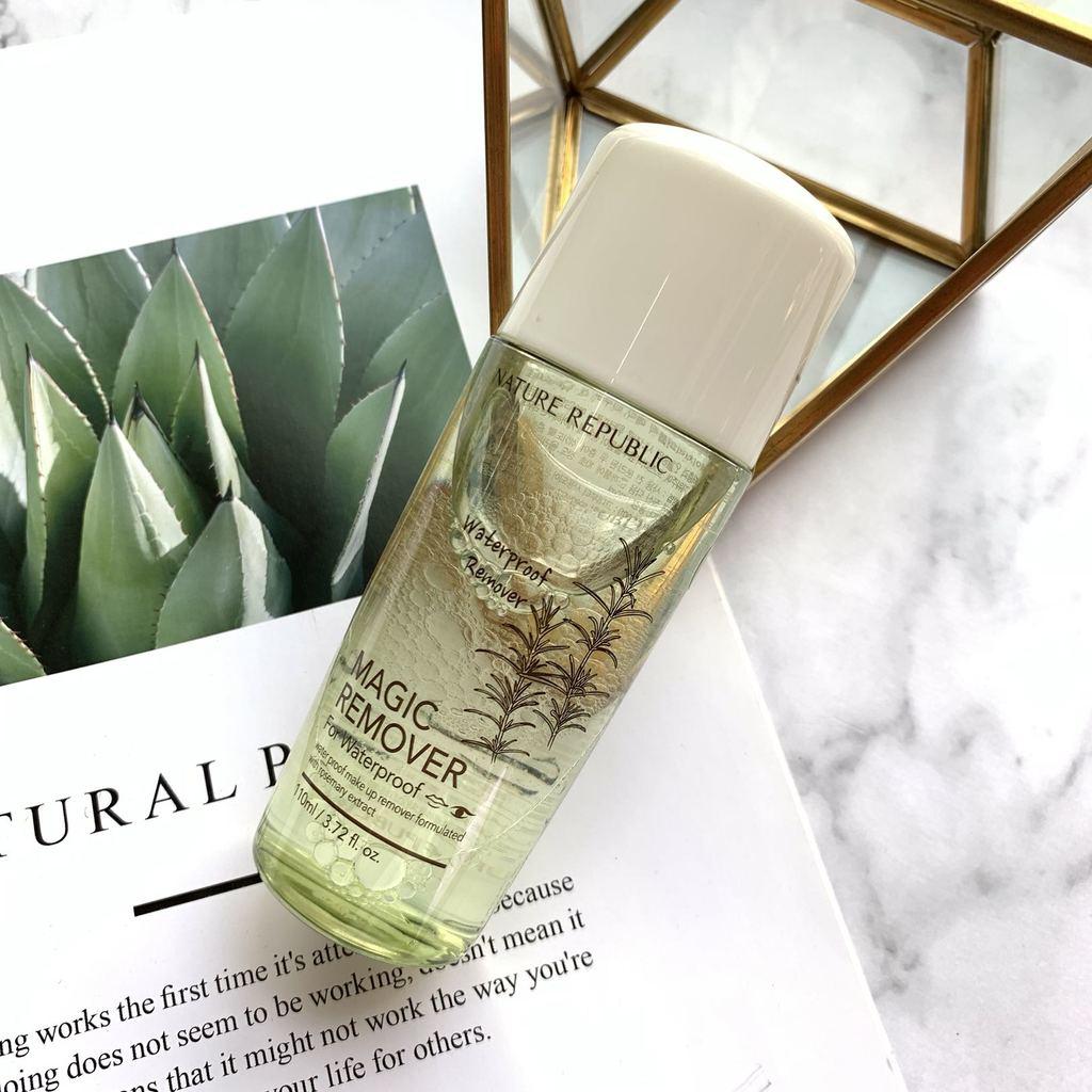 Двухфазная жидкость для снятия макияжа Nature Repu