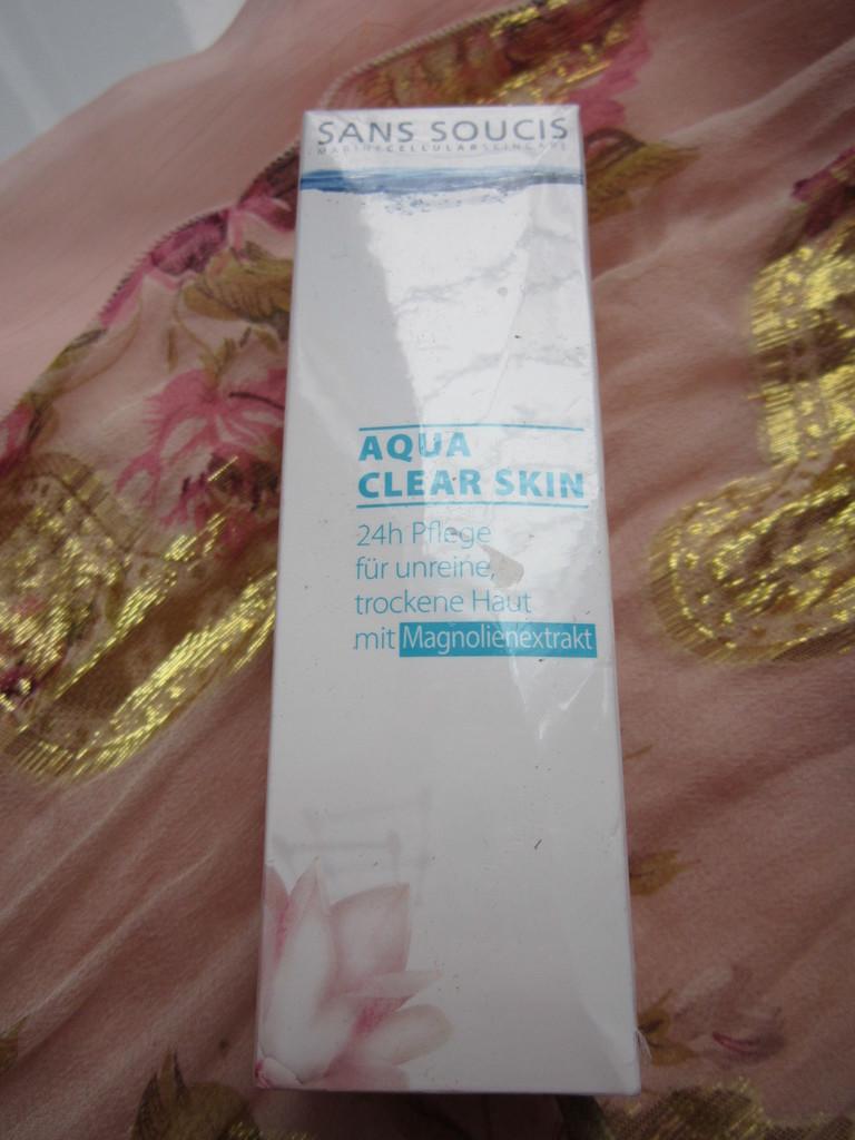 Sans Soucis Aqua Clear Skin 24 care – Крем 24 часа