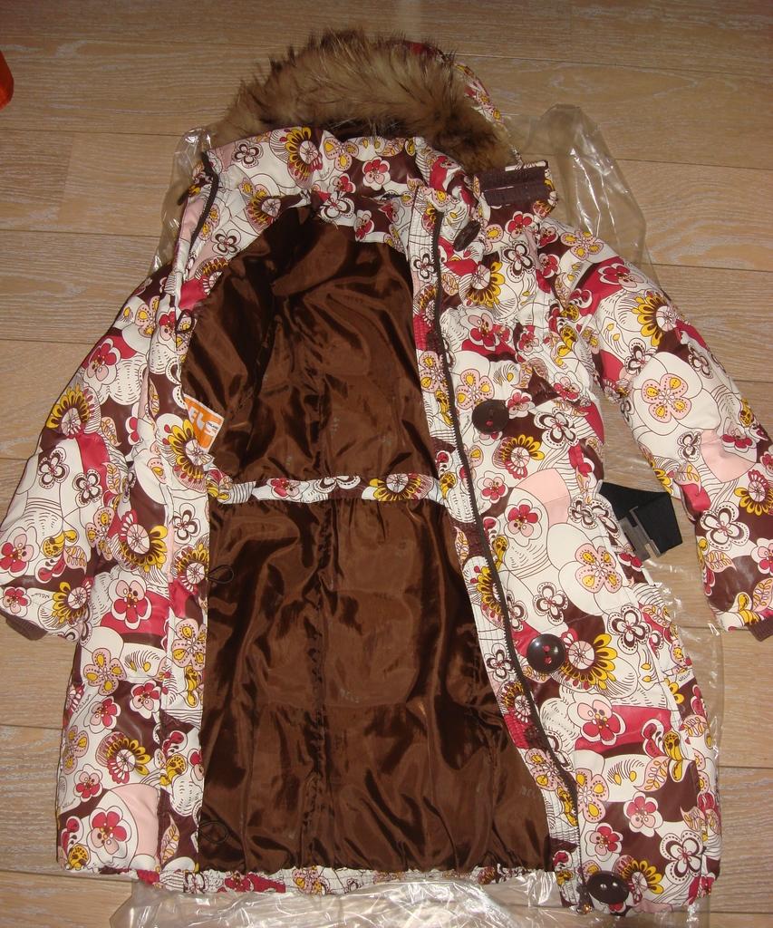 Зимнее пальто Nels на рост 152-158