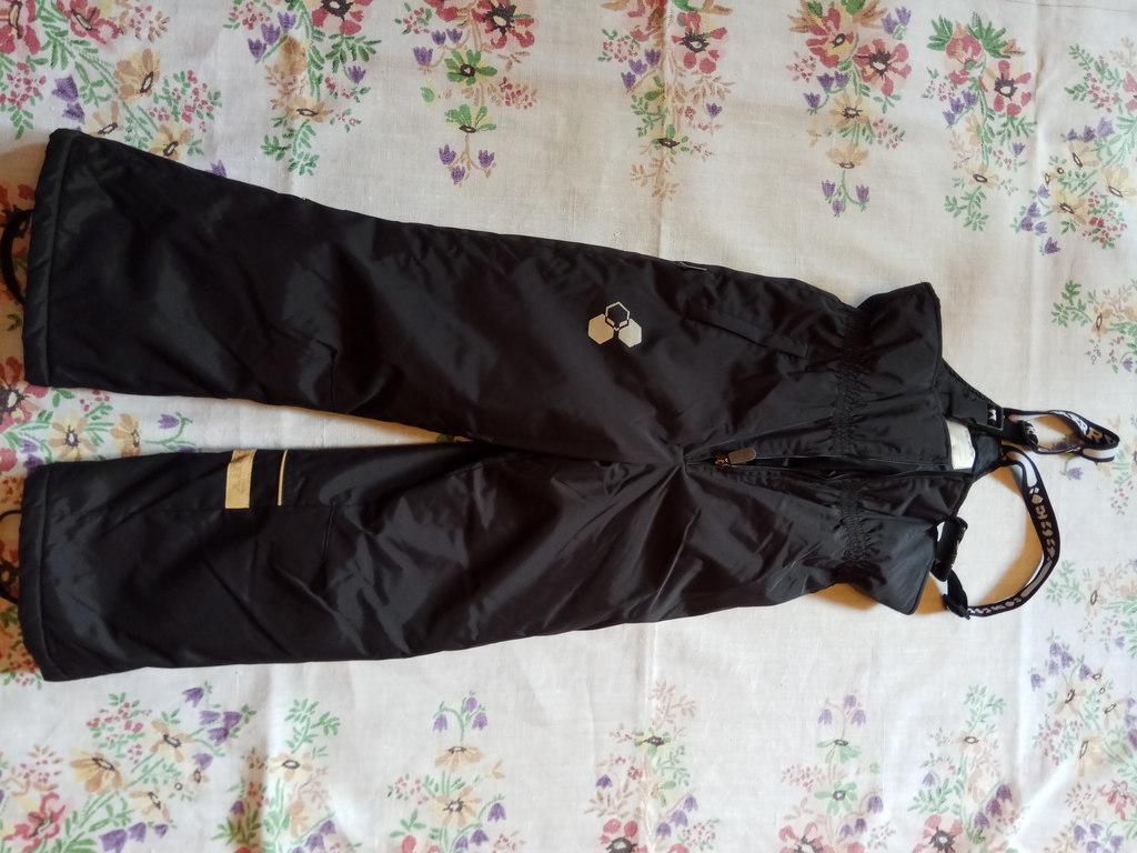 Теплые зимние брюки - комбинезон Kerry