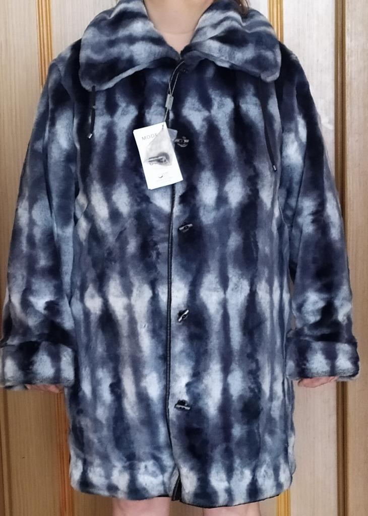 Пальто новое , шуба искусственная, 52-54 р-р