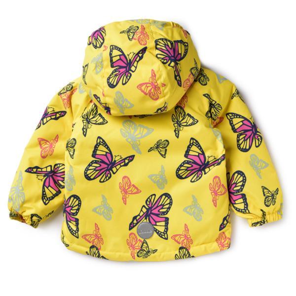 Комплект Lassie by Reima жёлтый с бабочками