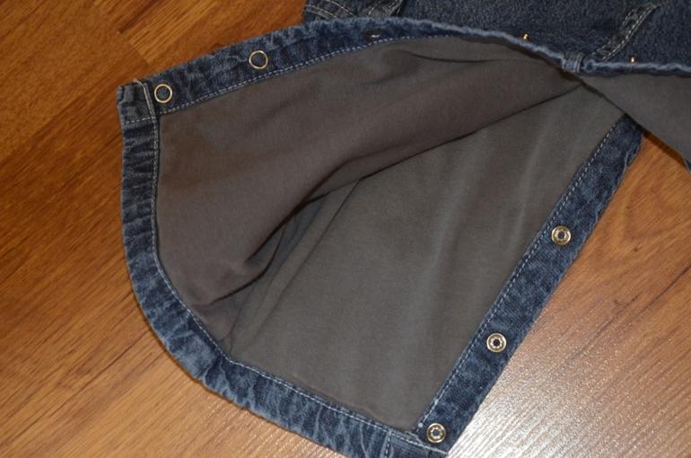 Вельветовый и 2 джинсовых комбинезона 6-18 мес.