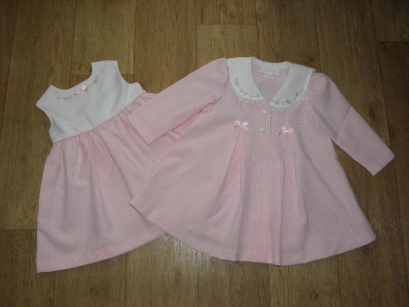 Комплект платье и пальто (США) на 2-3 г.