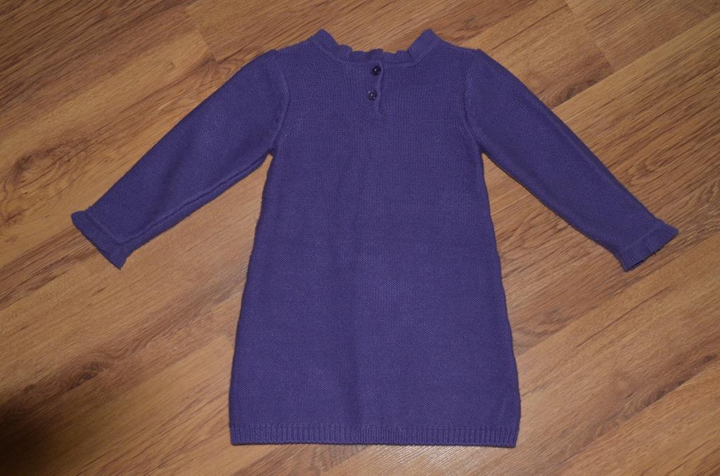 Фиолетовое вязаное платье Crazy 8 на 3-5 лет